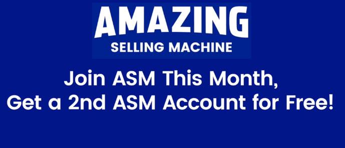 Amazing Selling Machine BOGO Bonus Offer
